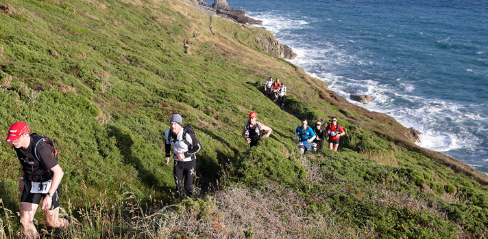 Lizard Point ultra marathon with Endurancelife
